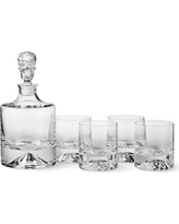 Shade Skull Decanter & Double Old-Fashioned Glasses, Set of 4