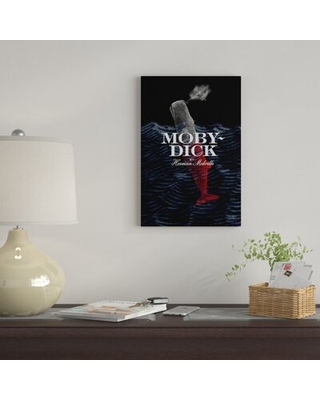 'Moby Dick By Vivian Chang' By Creative Action Network Graphic Art Print on Wrapped Canvas