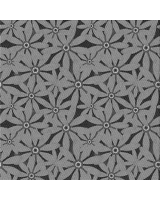 Amazing Deal On Ebern Designs Thorfast Floral Gray Black Area Rug X113657958 Rug Size Square 3