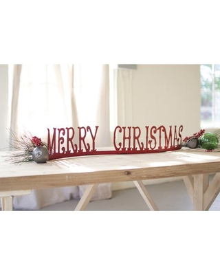 Merry Christmas Table Top Mantle The Holiday Aisle®