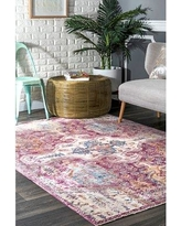 "Bungalow Rose Penrod Pink Area Rug BF030067 Rug Size: Rectangle 5'3"" x 7'7"""