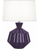 "Robert Abbey Orion 17 3/4""H Amethyst Ceramic Accent Lamp"