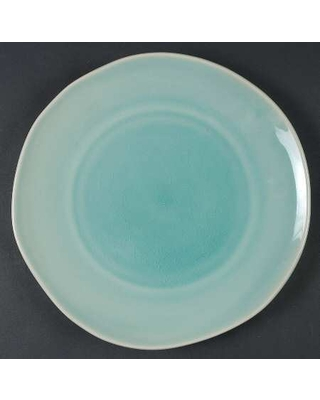 Target Turquoise Crackle Dinner Plate