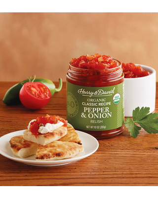 Organic Classic Pepper And Onion Relish by Harry & David
