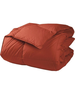 The Company Store LaCrosse Light Warmth Russet King Down Comforter