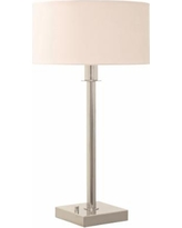 House of Troy Franklin Polished Nickel Table Lamp