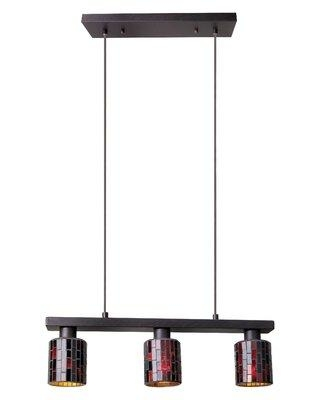 Bloomsbury Market Ebaugh 3-Light Kitchen Island Linear Pendant CMNL2251