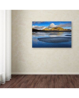 """Millwood Pines 'Iceland 47' Photographic Print on Wrapped Canvas MIPN1839 Size: 22"""" H x 32"""" W"""