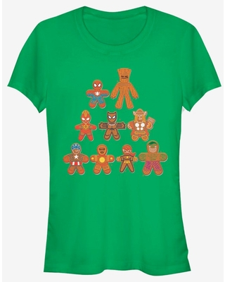 Marvel Avengers Cookie Tree Holiday Girls T-Shirt