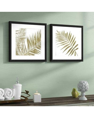 Spectacular Deals On Gracie Oaks Golden Frd 2 Piece Picture Frame Graphic Art Print Set On Paper Frame Paper In Brown Size Mini 10 17 Wayfair