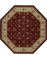 Brumlow Mills Amani Red Area Rug 243 Rug Size: Octagon 5' x 5'