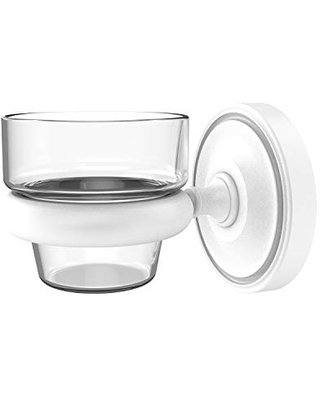 Allied Brass PR-64 Prestige Regal Collection Wall Mounted Votive Candle Holder, Matte White