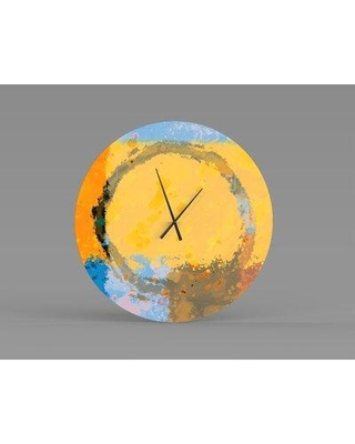 East Urban Home Oakhur Wall Clock W001955918 Size: Small