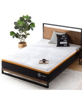 """Zinus 10"""" Cooling Copper Adaptive Hybrid Mattress with Innersprings for Motion Isolation, Twin"""
