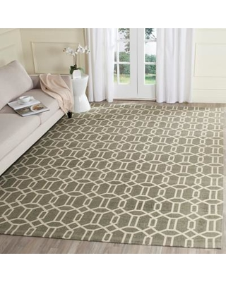 Charlton Home Charing Cross Gray/Beige Area Rug CHLH8115 Rug Size: Rectangle 4' x 6'