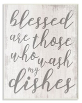 Amazing Deals On Blessed Script Word Art Plaque Wood