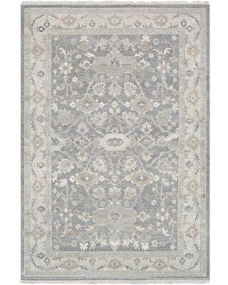 Canora Grey Terrones Oriental HandKnotted Wool Gray Rug X113206570 Rug Size: Rectangle 8' x 10'