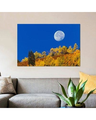 East Urban Home Autumn Moon At Sunrise Gunnison National Forest Colorado Usa Photographic Print