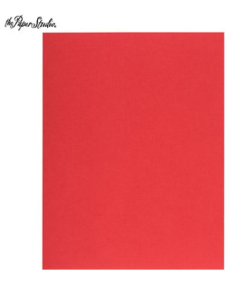 """Christmas Red Textured Cardstock Paper - 8 1/2"""" x 11"""""""