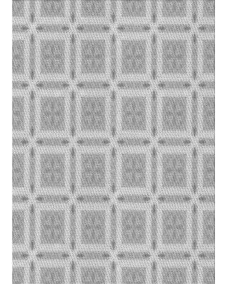 East Urban Home Dipaolo Geometric Wool Gray Area Rug W002456389 Rug Size: Rectangle 4' x 6'