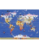 Magic Slice World Map Play Placemat MPT001