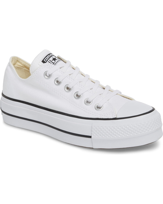 Converse Women's Converse Chuck Taylor All Star Platform Sneaker, Size 8 M White from NORDSTROM | more