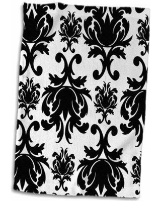 Symple Stuff Blakeley Large and Chic Damask Hand Towel W000632870