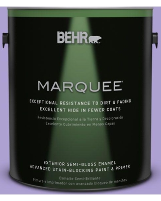 BEHR MARQUEE 1 gal. #P560-4 Magic Wand Semi-Gloss Enamel Exterior Paint and Primer in One