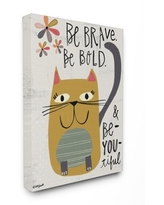 Kids Room by Stupell Be Brave Be Bold Be You Be Canvas Wall Art