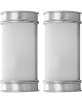Florence Wall Sconce Wall Lights - Silver - Safavieh
