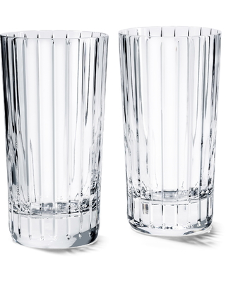 Amazing Deal On Baccarat Harmonie Set Of 2 Lead Crystal Highball Glasses Size One Size White