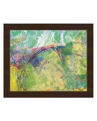 New Savings On Oily Chartreuse Spatter Picture Frame Graphic Art Print On Canvas Click Wall Art Format Espresso Framed Size 13 5 H X 16 5 W