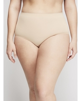 Lane Bryant Women's Smoother Full Brief Panty 22/24 Cafe Mocha