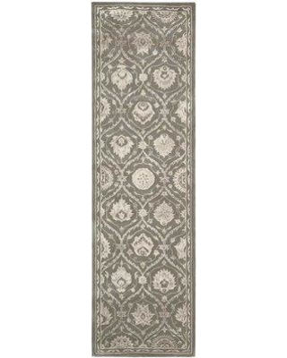 "Darby Home Co Fraserburgh Hand-Tufted Wool/Silk Cobblestone Area Rug EBCZ3337 Rug Size: Rectangle 3'9"" x 5'9"""