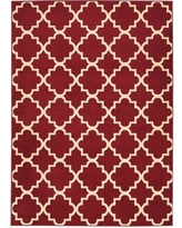 "Laurel Foundry Modern Farmhouse Longmont Trellis Red Indoor Area Rug LFMF2669 Rug Size: Rectangle 5'3"" x 7'3"""