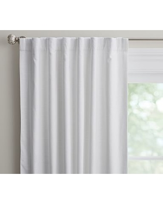 """Evelyn Blackout Curtain, 44 x 108"""", White"""