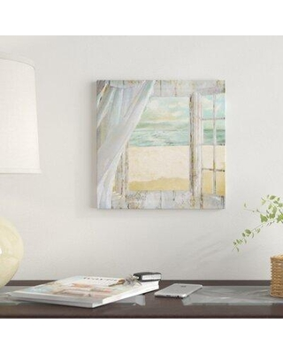 """East Urban Home Summer Me I Print On Canvas FCIT2883 Size: 26"""" H x 26"""" W x 0.75"""" D"""