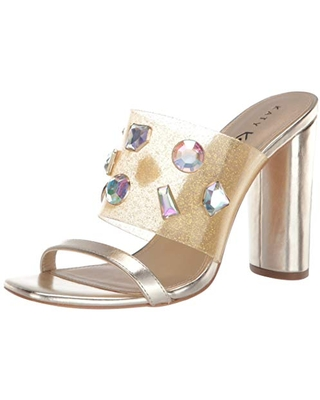 Katy Perry womens The Finca Heeled Sandal Gold 11 M US