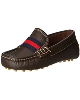 Elephantito Boy's Club Loafer, Brown, 6 M US Toddler