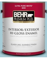 New Deal For Behr 1 Gal S460 2 Drip Urethane Alkyd Semi Gloss Enamel Interior Exterior Paint