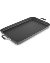 Select by Calphalon Hard-Anodized Non-stick Double Griddle, Black