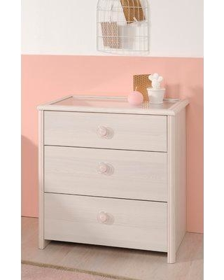 Harriet Bee Richbell 3 Drawer Chest W000074578