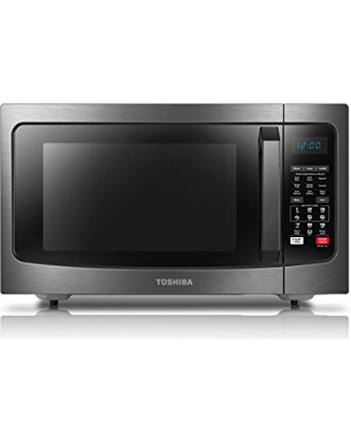 toshiba ec042a5cbs convection microwave oven with convection function and smart sensor 15 cu