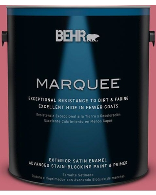 BEHR MARQUEE 1 gal. #P140-5 Lovebirds Satin Enamel Exterior Paint and Primer in One