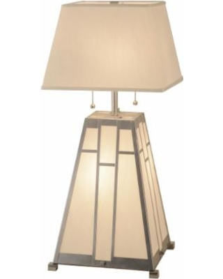 Meyda Lighting Double Bar Mission 31 Inch Table Lamp - 154830