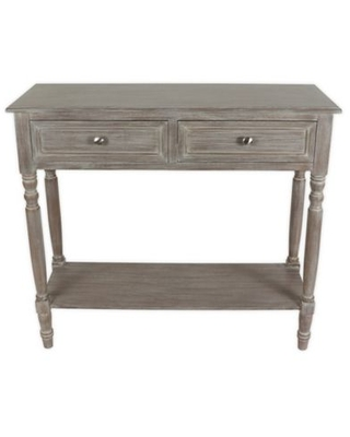 Decor Therapy Simplify 2-Drawer Console Table