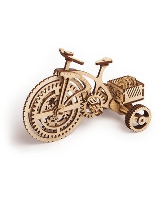 3D Wood Puzzle - Bicycle Wood Trick