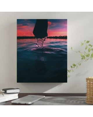 "East Urban Home 'Mid Motion' Photographic Print on Wrapped Canvas BF059737 Size: 30"" H x 24"" W x 2"" D"