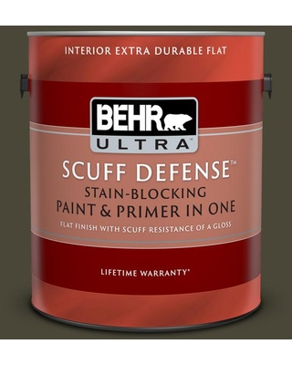 Spectacular Savings On Behr Ultra 1 Gal T18 11 Unplugged Extra Durable Flat Interior Paint And Primer In One