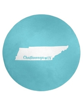 Shopping Special For Chattanooga Tennessee Poly Chenille Rug East Urban Home Rug Size Round 5